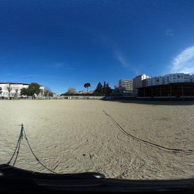 Campo de fútbol de terra