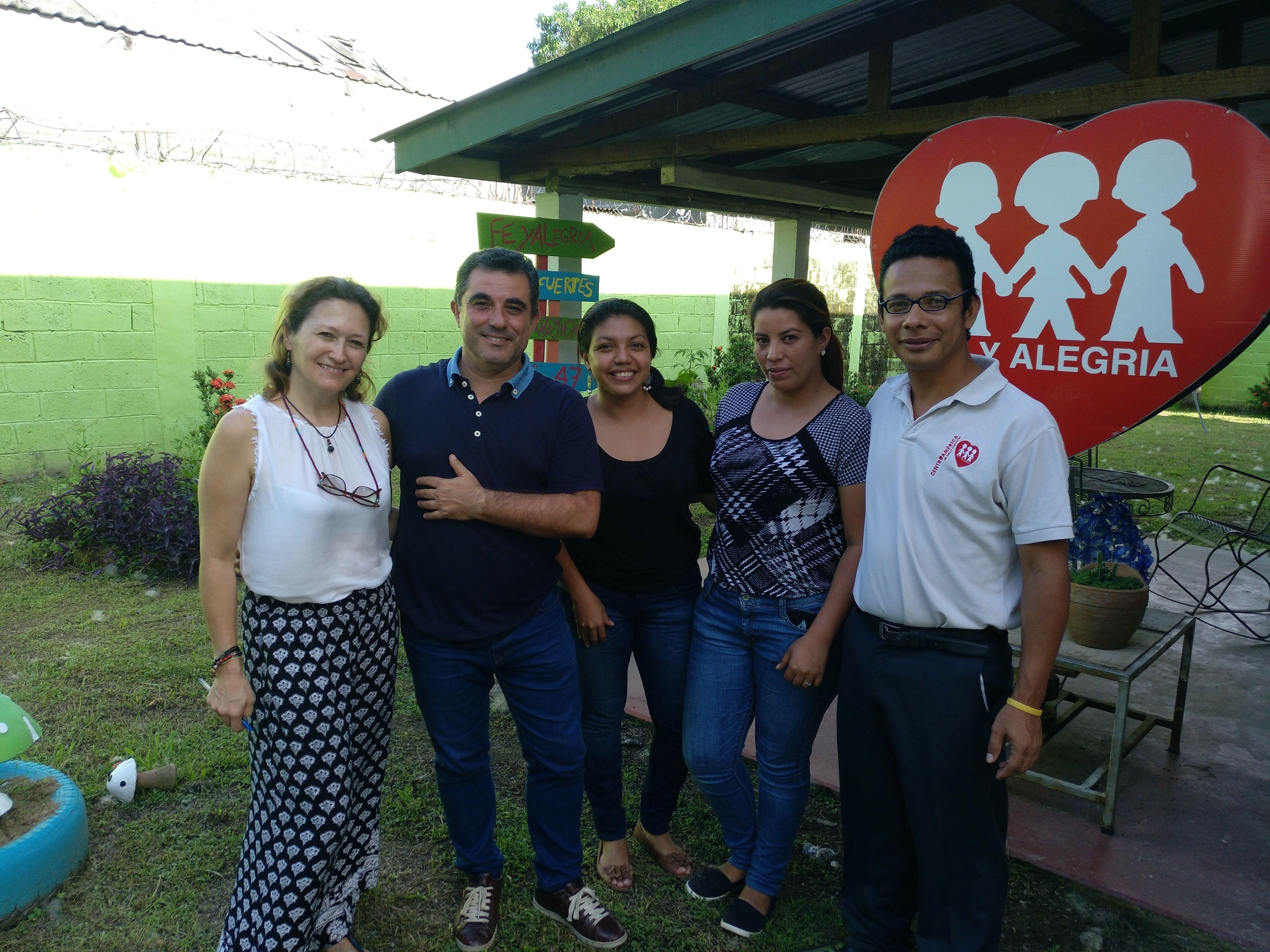 José Luis Barreiro, en Fe e Alegría Honduras