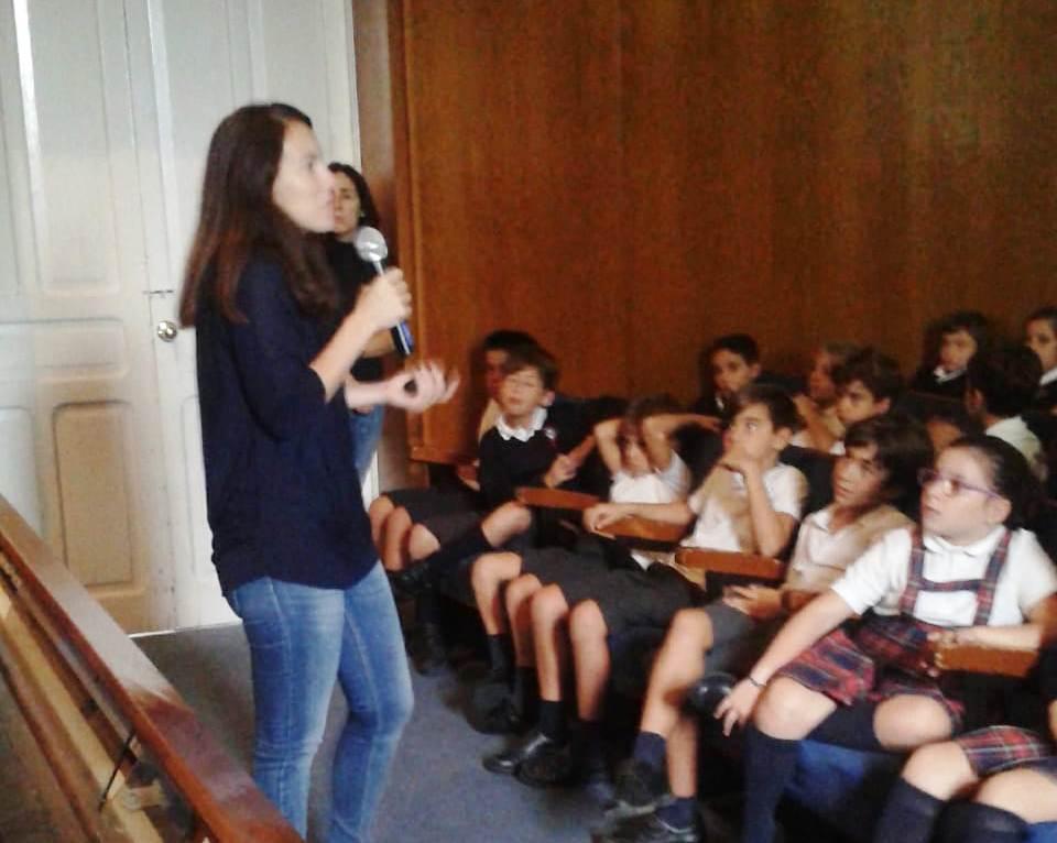 Isa Hernández contou a súa estancia en México