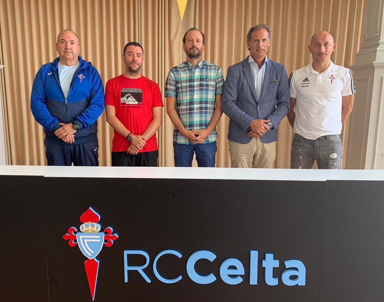 Convenio deportivo entre o RC Celta e o Club Apóstol