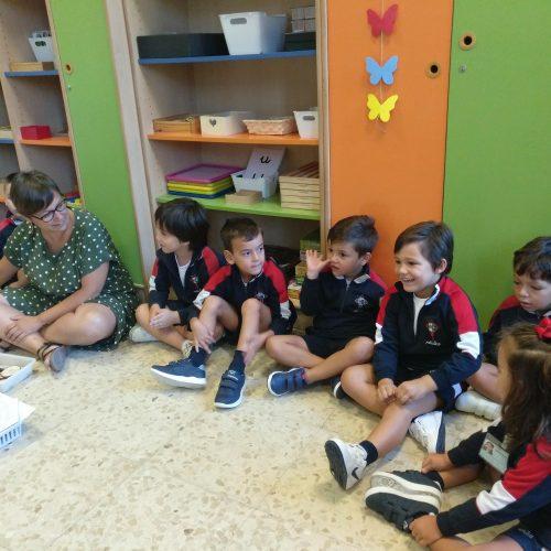 Primeira actividade na clase