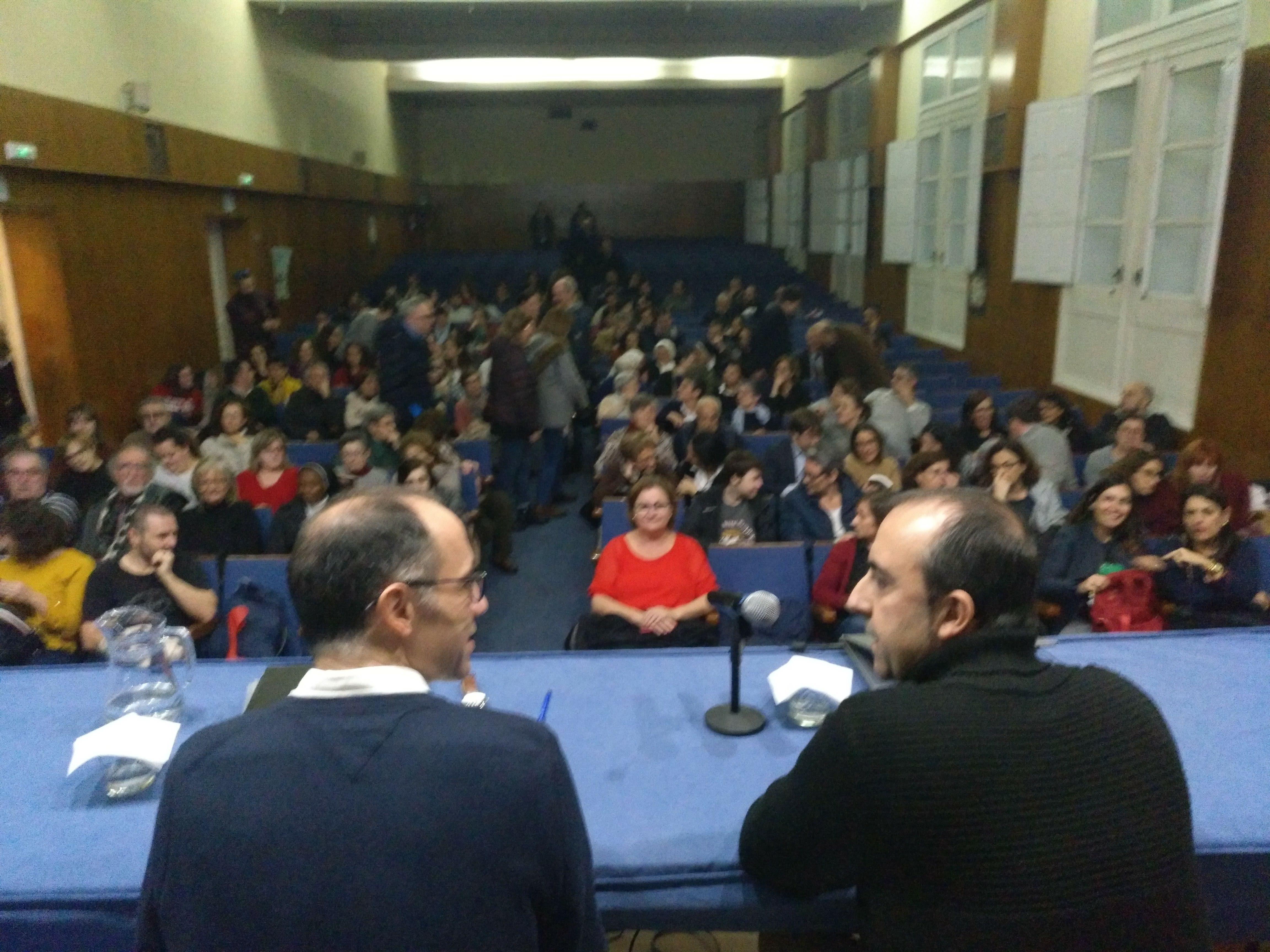 "José Mª Rodríguez Olaizola SJ falou no Colexio sobre ""Educar para a liberdade"""