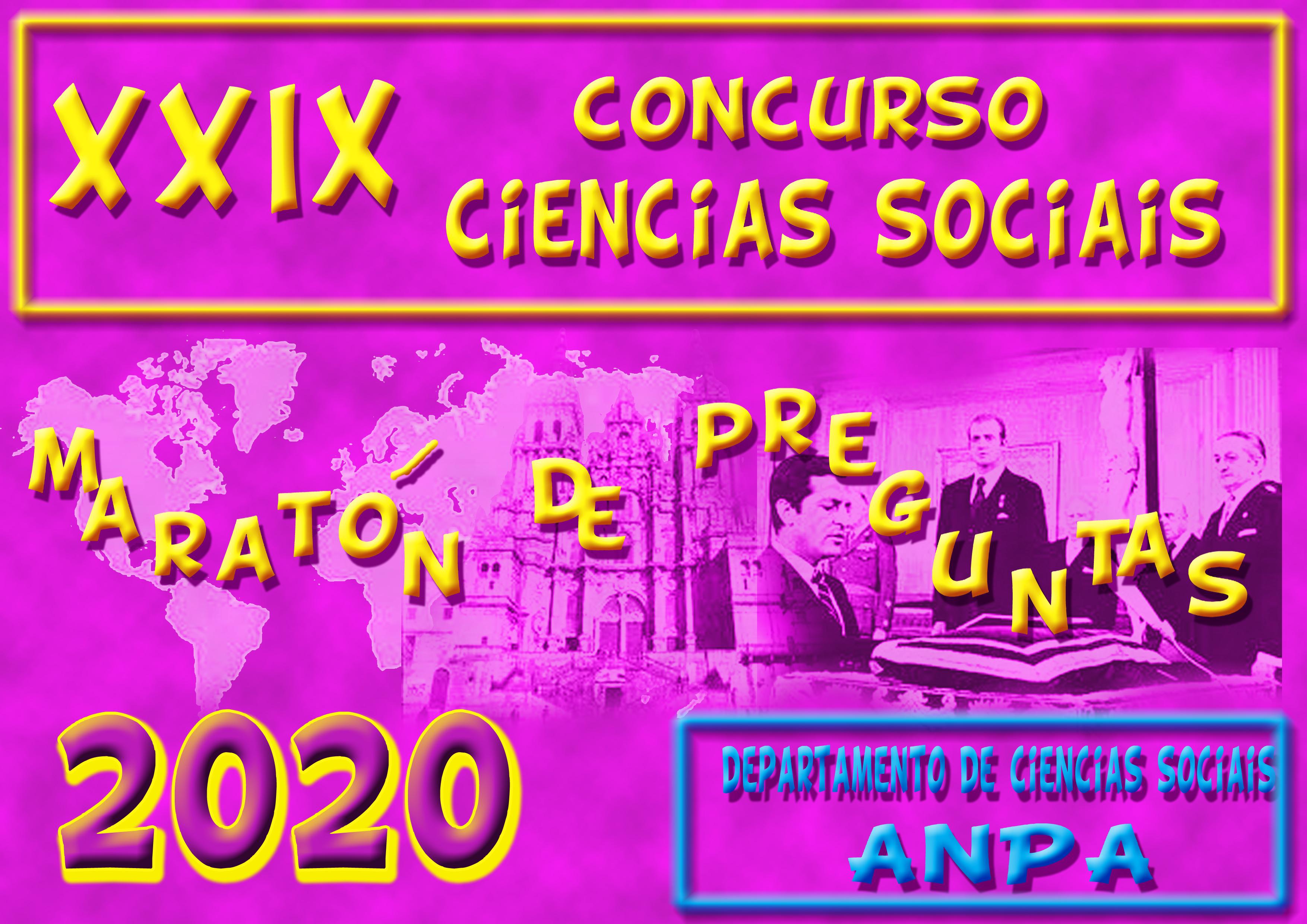 Concurso de Ciencias Sociais 2020