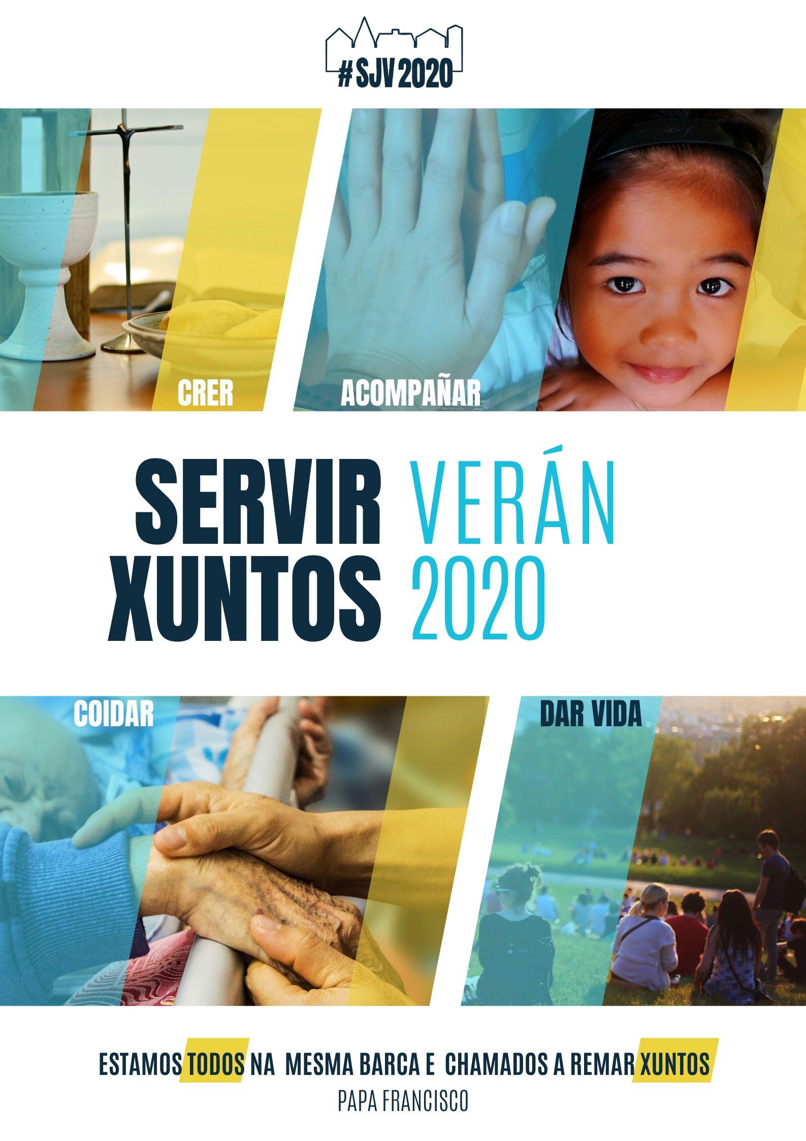 """Animamos a facer voluntariado en Vigo coa iniciativa xesuíta """"Servir Xuntos Verán 2020"""""""
