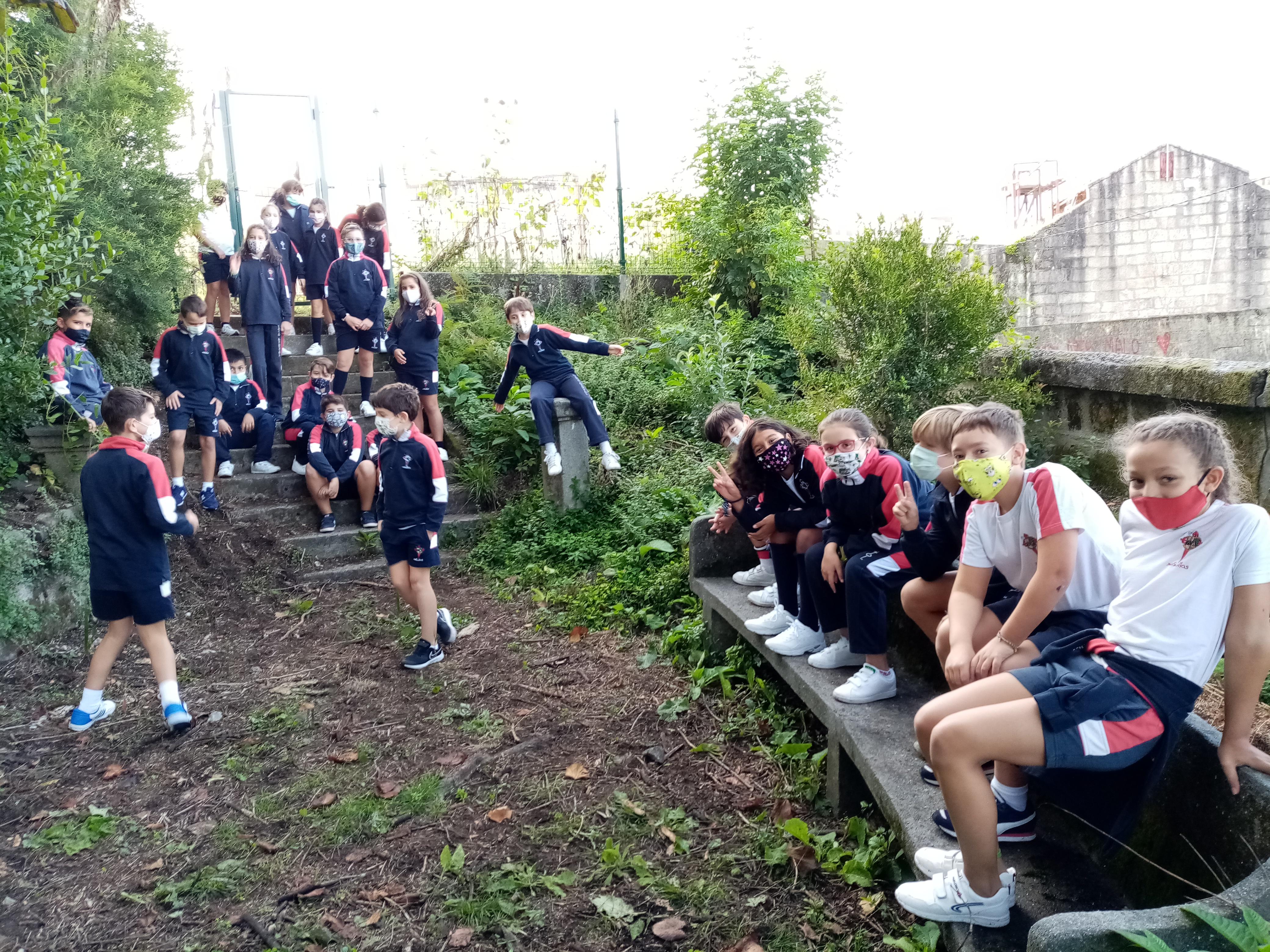 O bosque do Colexio, a mellor aula para o noso alumnado