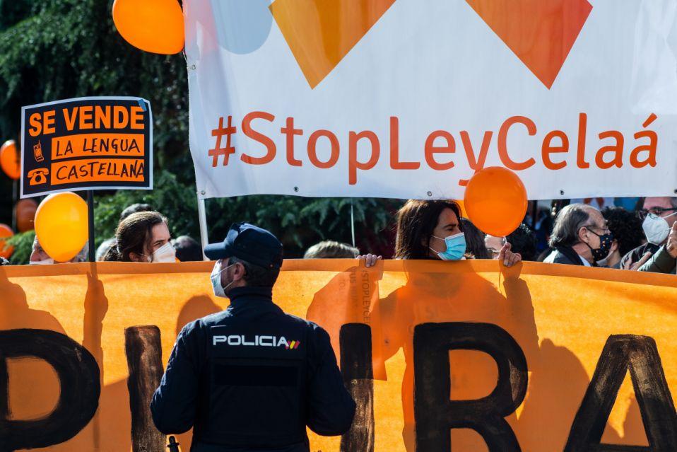 Recomendacións para a manifestación en coches do domingo en Vigo