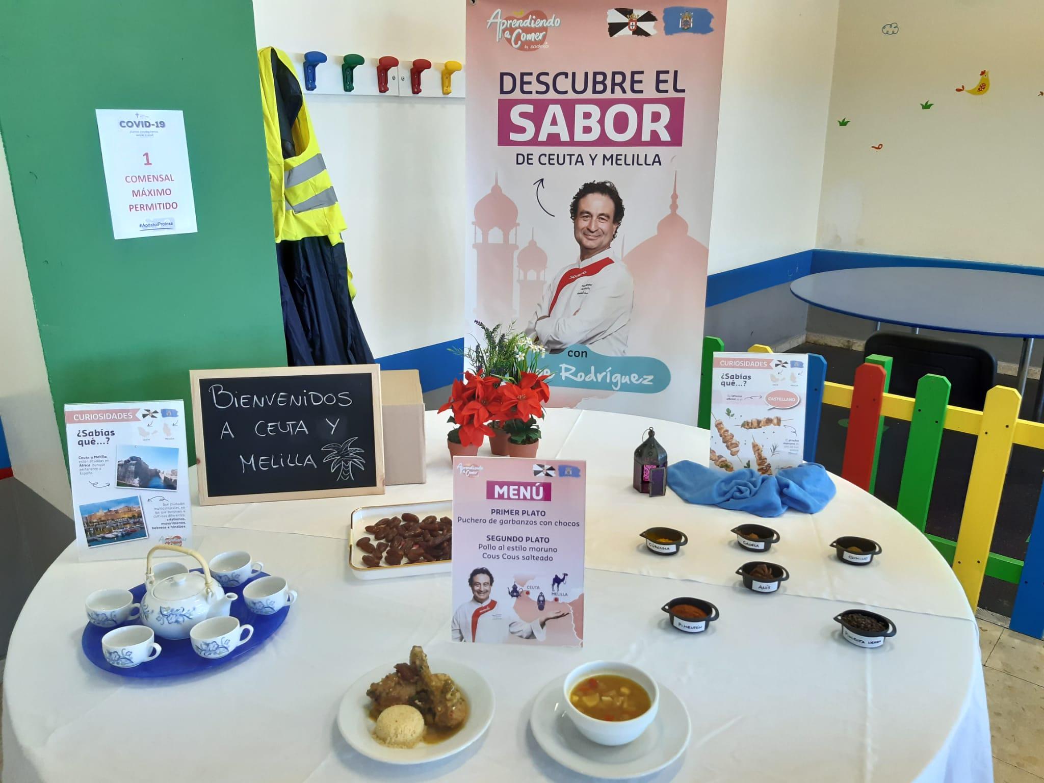 Jornada gastronómica de Ceuta y Melilla