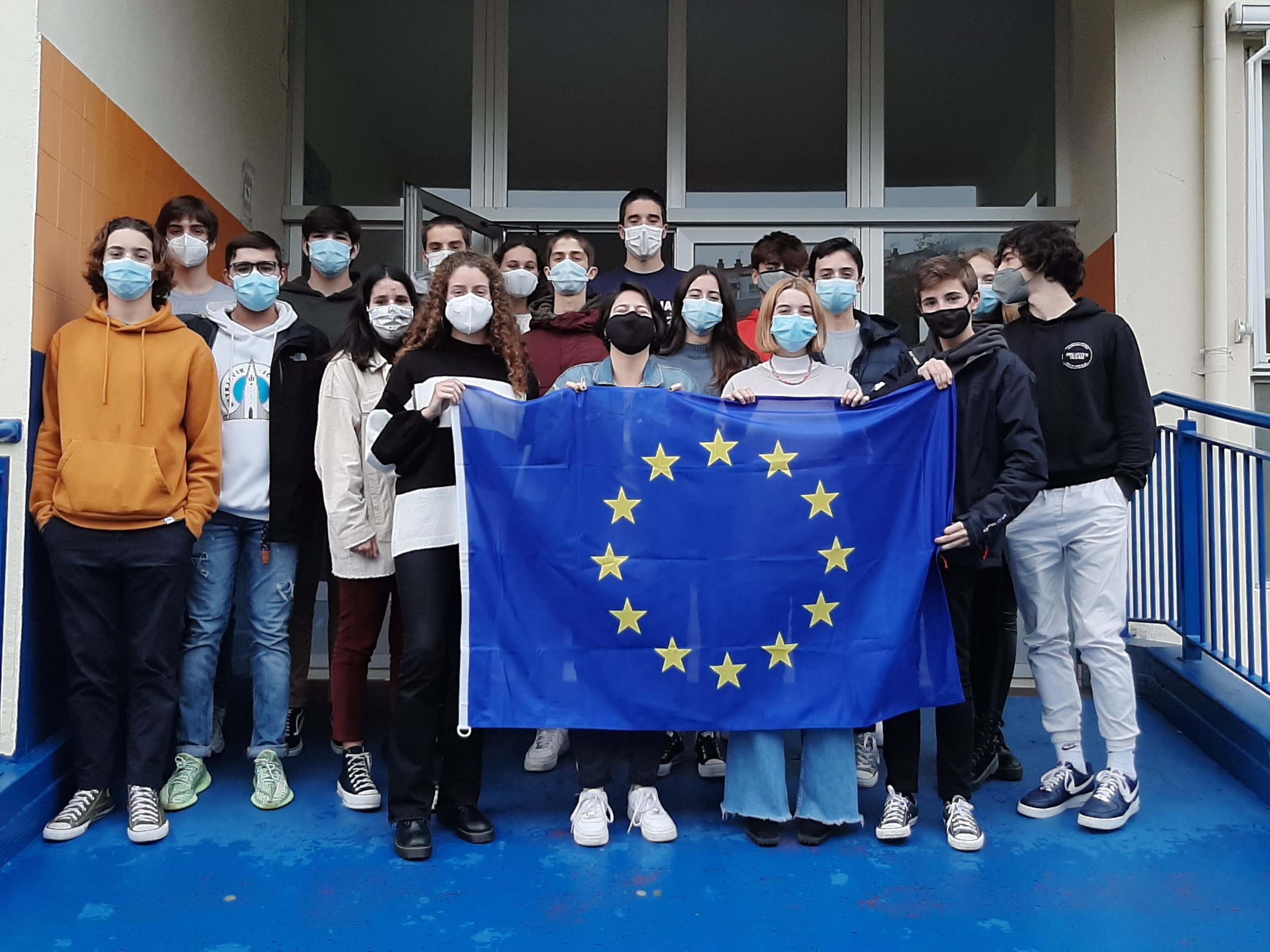 O Colexio Apóstol, Escola Embaixadora do Parlamento Europeo neste curso 2020-2021