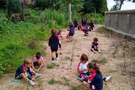 infantil-jugando-en-el-bosque