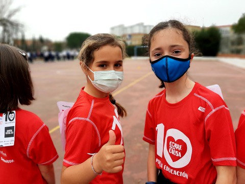 """Celebramos a X Carreira Solidaria de Entreculturas """"Corre por unha causa"""""""