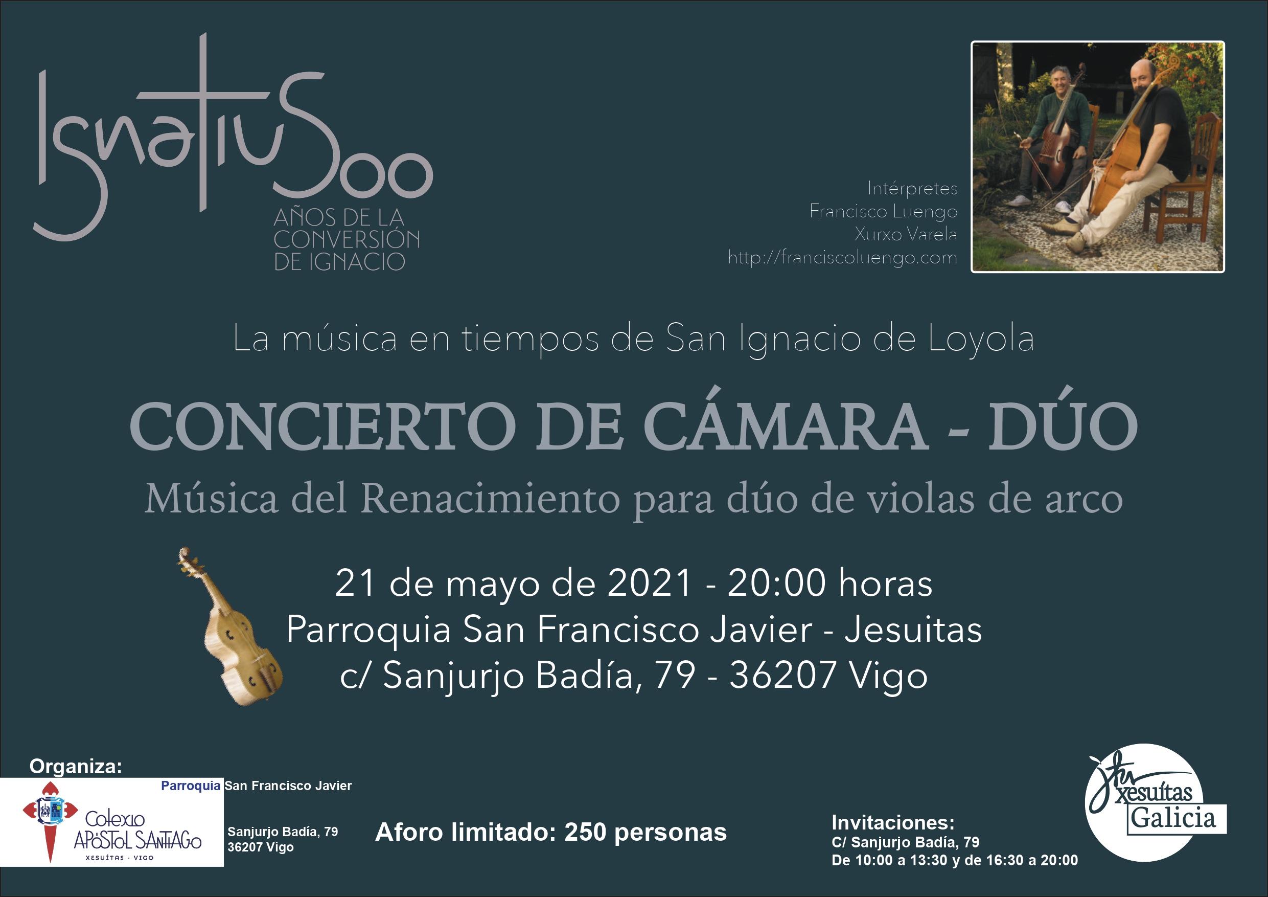 Estreamos o Ano Ignaciano – Ignatius 500 cun concerto de cámara